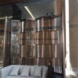 ホーム家具折るスクリーンの装飾的なステンレス鋼部屋ディバイダの区分