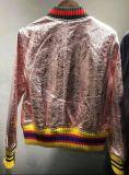 Veste en cuir brodé à la mode, Vêtements de mode