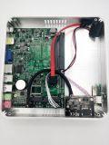 Bareboneの小型パソコン4kのビデオコアI3 6100u Windows 1GHzフレームまでHDMI VGA FanlessのパソコンのIntelの10の図形520