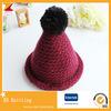 Beaux chapeaux et chapeaux de l'hiver de gosses de filles de vente chaude avec la première bille