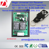ユニバーサル12V/24V 2チャネルのゲートかガレージのドアのリモート・コントロール受信機Hcs301の受信機