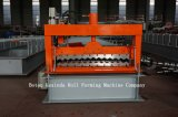 Azulejo de azotea acanalado de la venta caliente que forma la máquina
