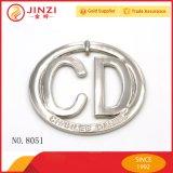 Metallkennsatz Marke Customed Firmenzeichen-Marke für Handtaschen