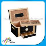 Qualitäts-fester hölzerner Zigarre-Paket-Ablagekasten für Männer