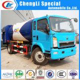 estação de enchimento do patim do tanque de gás de 10tons LPG auto para o mercado de Nigéria