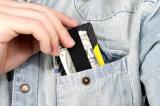 Портмоне случая углерода 3k тонких держателей визитной карточки бумажников прочное