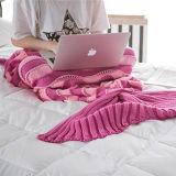 아크릴 인어 담요, 인어 테일 담요 담요 인어
