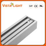 Lampes linéaires légères pendantes en aluminium de l'extrusion 100-277V DEL