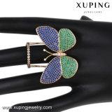 Anello di barretta multicolore elegante dei monili della farfalla della CZ di modo per Women-14108