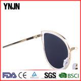 Ynjnの高品質の新しいデザイン透過レンズのサングラス