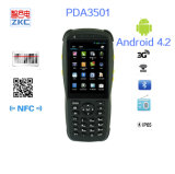 Inalámbrica GSM Android portátil 1d código de barras escáner PDA3501 dispositivo