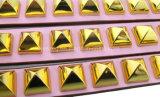 질 금 다이아몬드 PU 개 고양이 고리 또는 애완 동물 가죽끈 또는 하네스 (KC0051)