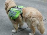 Mochila ajustable del Saddlebag del recorrido del portador del morral del perro de animal doméstico para los perros medios y grandes que van de excursión el entrenamiento accesorio del animal doméstico al aire libre que acampa impermeable