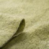 Wolle-/Polyester-Gewebe mit guter Elastizität für Herbst im Grün