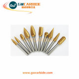 Bavures rotatoires pneumatiques ou électriques de carbure de tungstène de rectifieuse