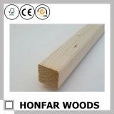 Bois décoratif de bois dur moulant pour le marché des Etats-Unis