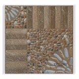 Azulejo de suelo de cerámica rústico antideslizante de la inyección de tinta para el jardín