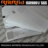Etiquetas pasivas de la escritura de la etiqueta del papel termal RFID del rango largo de la frecuencia ultraelevada