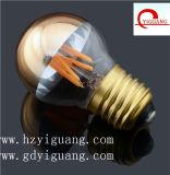 Lâmpada de filamento do diodo emissor de luz dos bulbos G45 G50 Edison do Natal do diodo emissor de luz para a decoração do partido