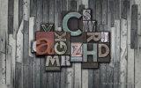 Конструкция Backgrond письма холодной конструкции английская для домашней картины украшения на панели стены