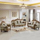 Sofá de la tela con el marco de madera del sofá para los muebles caseros (929Y)