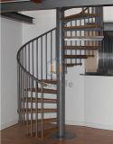 Escaleras espirales de interior/diseño de madera de la escalera