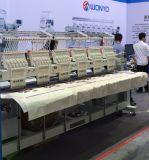 Máquina automatizada plana Wy906c/1206c/1506c del bordado del casquillo de las agujas de 6 aguja multi principal 9 y 12 y 15