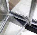 Приложение ливня двери MID-Range 6mm ванной комнаты Bifold с бортовой панелью