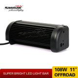 barra dell'indicatore luminoso 108W LED del camion di 11inch 24V LED per l'automobile