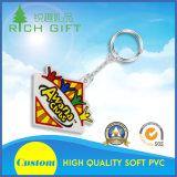 기념품 선물 광고를 위한 선전용 주문 형식 3D 연약한 PVC 고무 Keychain