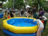L'eau gymnastique de sport de gosses flottant la cour de jeu gonflable à vendre
