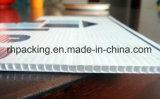 De witte TweelingMuur van pp plooide het Plastic Blad van Sheet/Correx Coroplast Corflute met Behandelde Corona het Afdrukken van 4mm 1200*2400mm