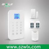 Sistema di allarme senza fili di GSM dello schermo di visualizzazione di TFT con la funzione in-Built di Cid