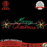 LED Candle Ce RoHS IP65 220V 12V Letra Feliz Natal Light para Pole Street Decoration