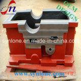Caixa de engrenagens do ferro de molde do processo da carcaça de areia