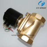 Válvula electromagnética material de cobre amarillo