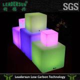 Cubo colorido da iluminação do diodo emissor de luz da leitura da luz da lâmpada de mesa do diodo emissor de luz (LDX-C02)