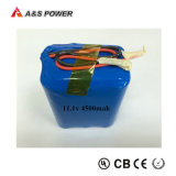12V 4500mAhのリチウム李イオン電池のパック11.1V再充電可能な18650