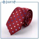 Handmade галстук польки полиэфира человека сплетенный МНОГОТОЧИЕМ