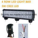 Una barra chiara luminosa eccellente 72W di 4 righe LED