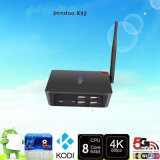 Amlogic S912 Octa noyau Android 6.0 TV Box X92 4k 2 Go 4 x USB / 16GB Octa base Kodi Android TV Box