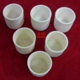 Alumina Al2O3 de Pot van de Smeltkroes met Deksel voor Uitsmelting de Op hoge temperatuur van het Glas