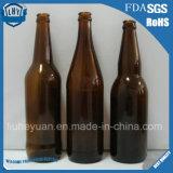 frasco de vidro do frasco de cerveja de 330ml Brown do frasco de vinho vermelho