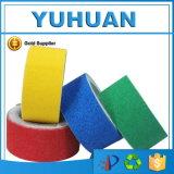 Nastro adesivo colorato alta qualità di pattino del PVC non per le scale