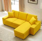Janpanese Art-Freizeit-Schnittsofa-Wohnzimmer-Ecken-waschbares Gewebe-Sofa