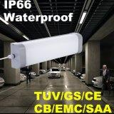 2FT 20W nenhuma luz impermeável IP66 da Tri-Prova do diodo emissor de luz da lâmpada da cintilação
