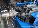 Einzelne Plastikwand-gewölbtes Rohr, das Maschine herstellt