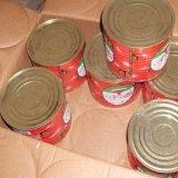 Preço de fábrica da pasta de tomate 400g de Cannned