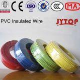 1.5mm kupfernes buntes EL verdrahtet elektrisches kabel Belüftung-Gebäude-Draht H07V-U