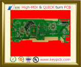 Prototipo del circuito stampato di elettronica per il LED che illumina 2835 della scheda 120179 del PWB